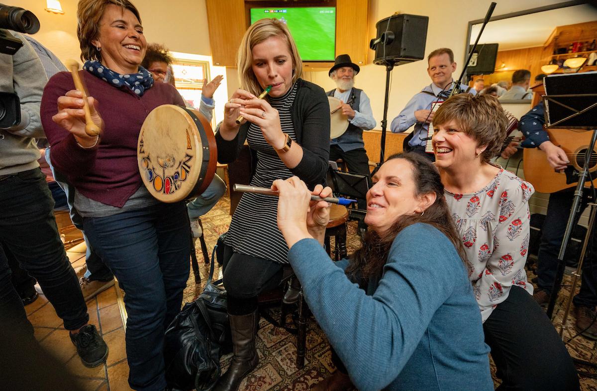 live traditional irish music at malzards